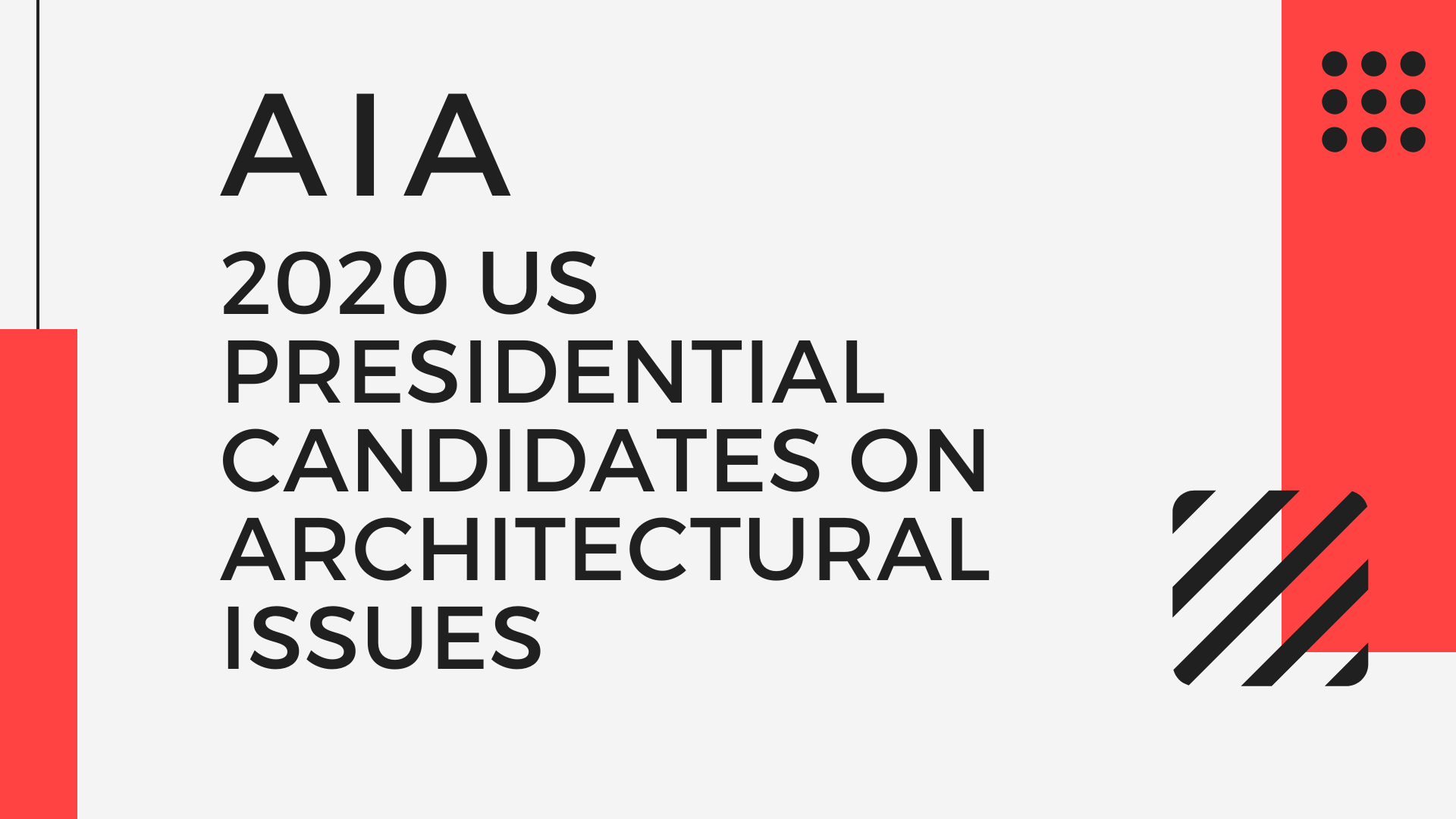 AIA 2020 Presidential Candidate Profiles