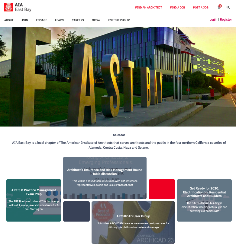AIA East Bay Launches New Website