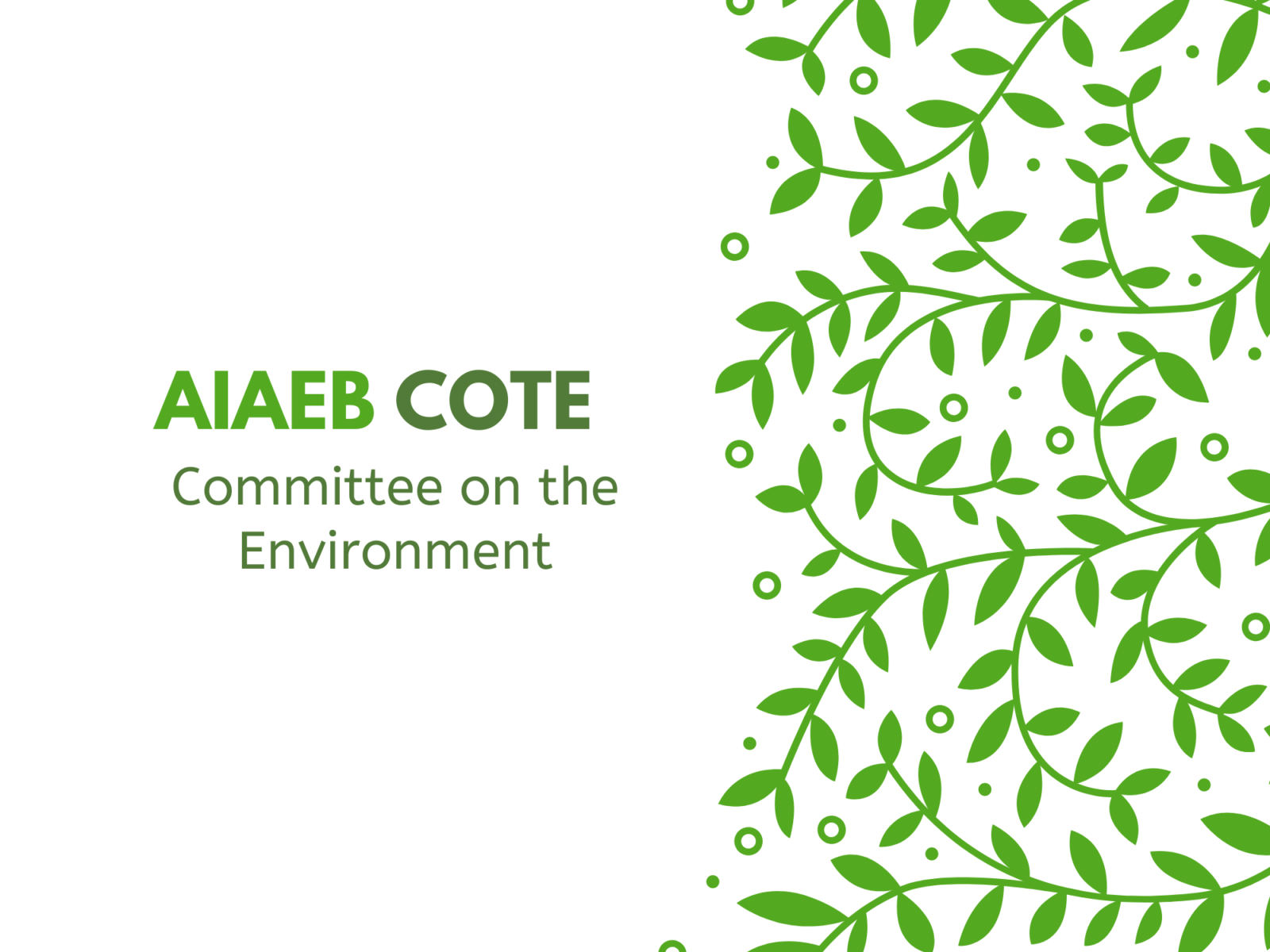 COTE - Committee on the Environment