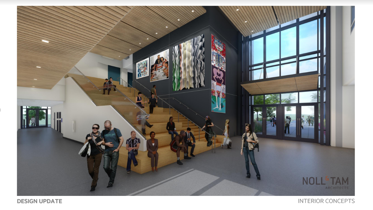 Construction Site Tour - New Center for the Liberal Arts